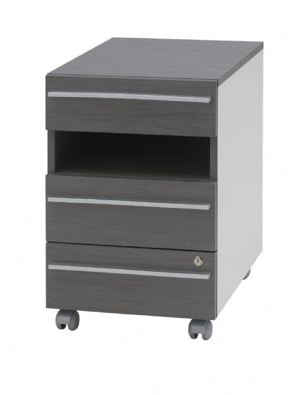 Harmonica 3 Drawer Mobile Pedestal